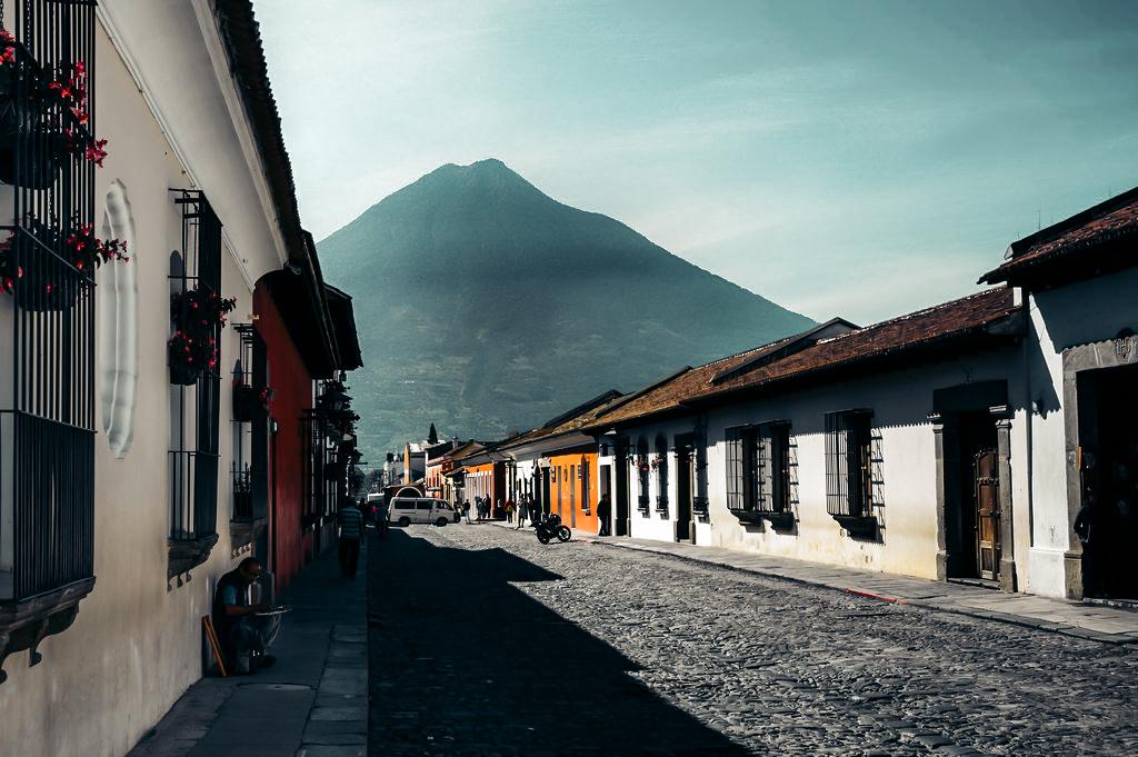 Antigua colial street