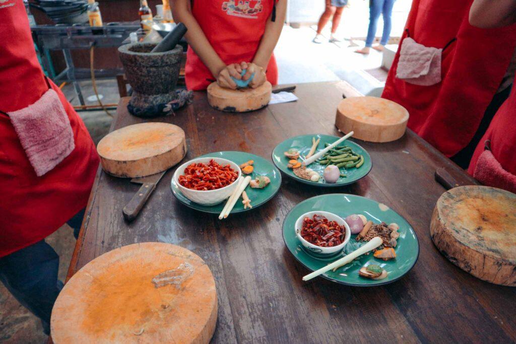 Chiang Mai cooking class instructions