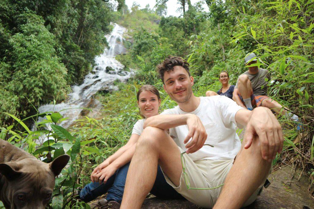 Chiang Mai water hike waterfall
