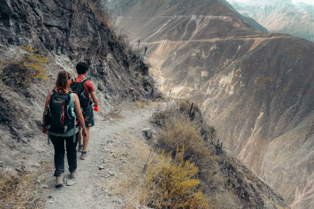 Colca Canyon hike