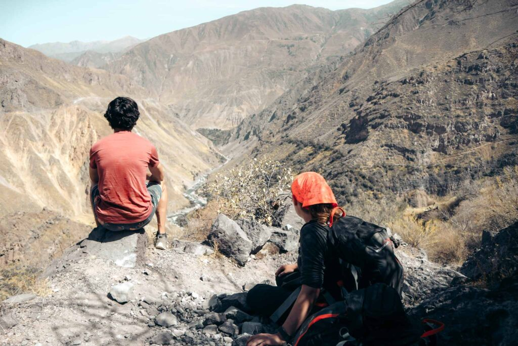 Colca Canyon hike second day