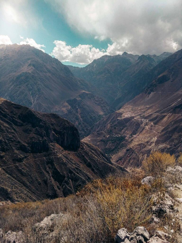 Colca Canyon viewpoint