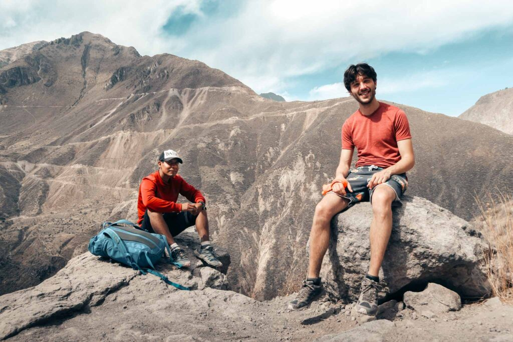 Colca canyon lunch