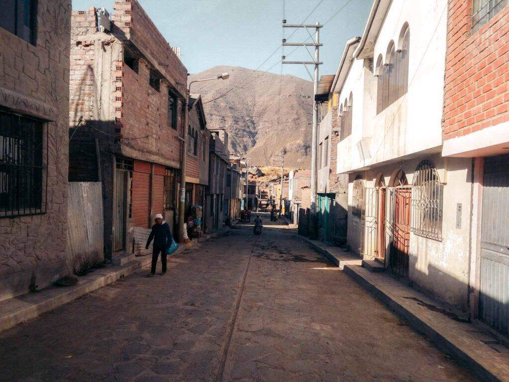 Colca canyon village
