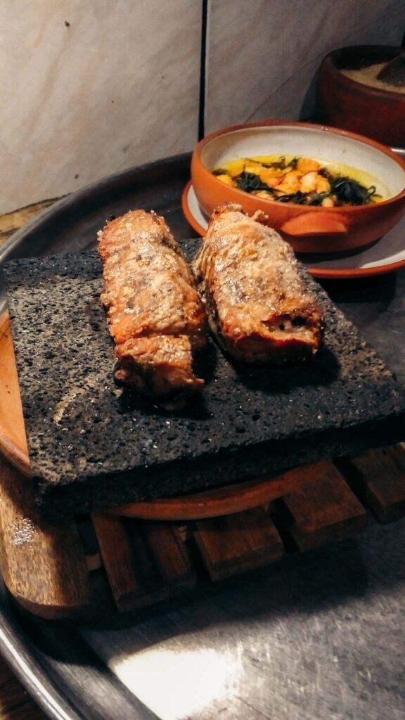 Inca cooking class