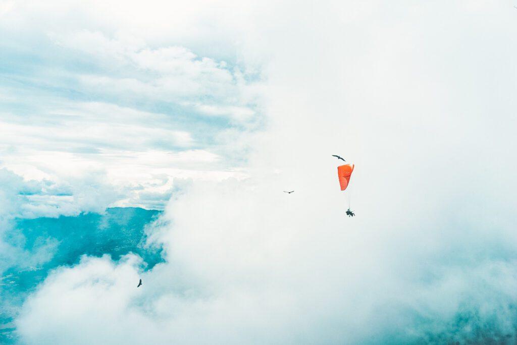 Medellin paragliden