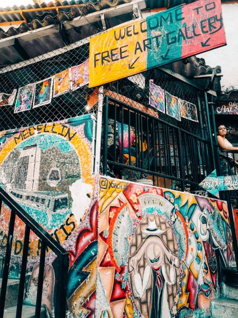 Medellin street arts