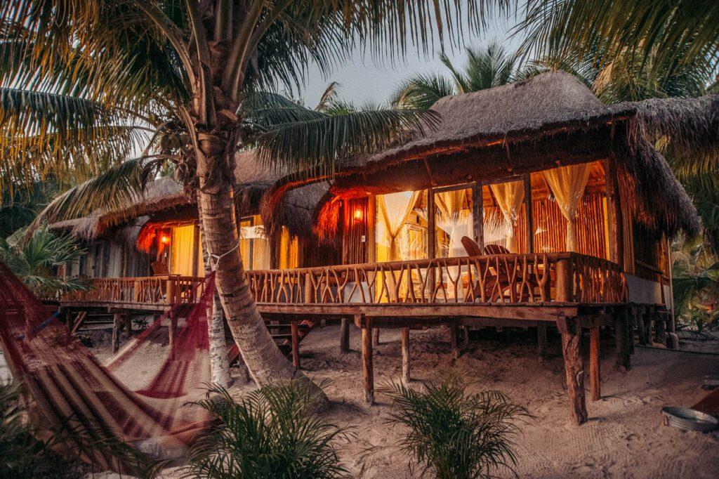 Mexico hotel beach
