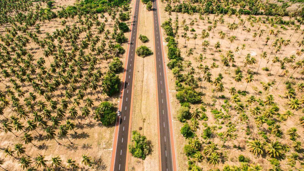 Mexico roadtrip sightseen