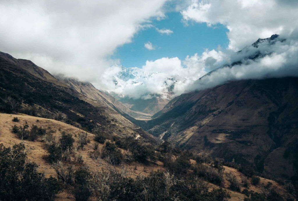 Salkantay trek view