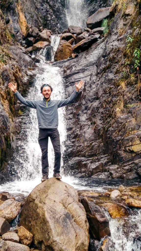 Salkantay waterfall