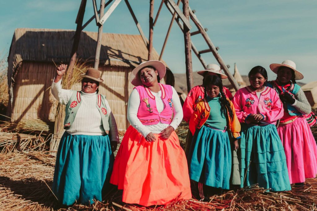 Titicaca lake Uros