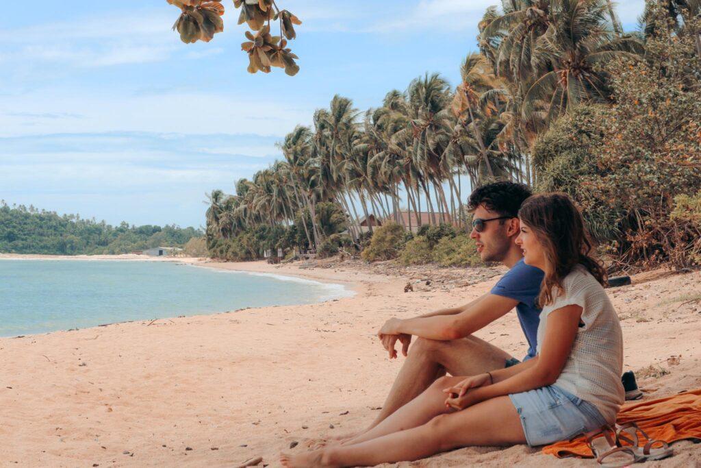 Koh Samui beach relax
