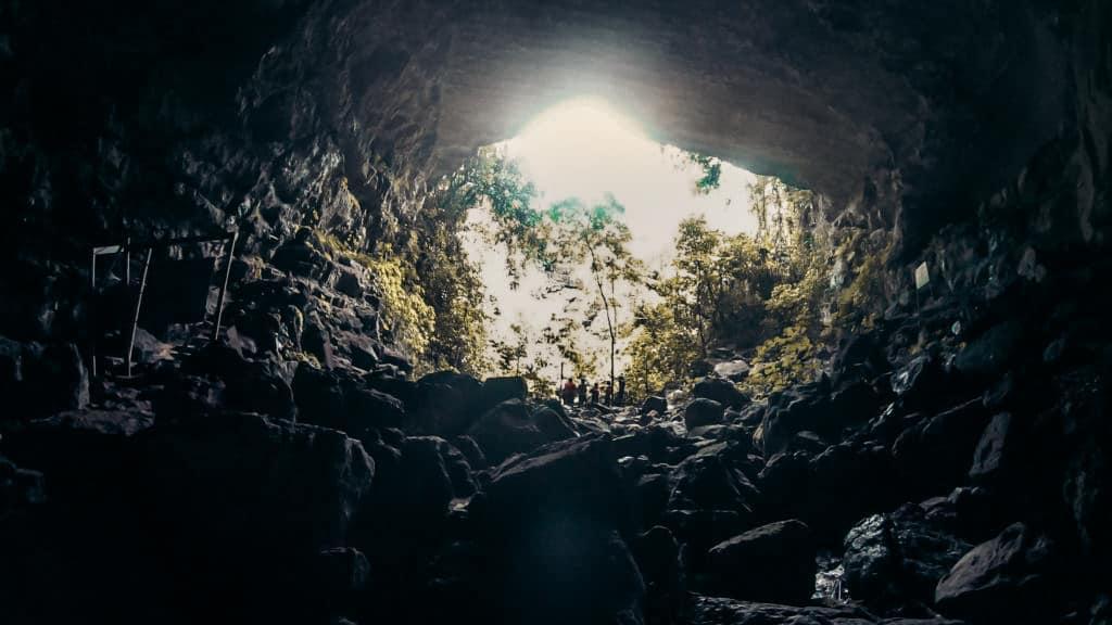 San Gil caving