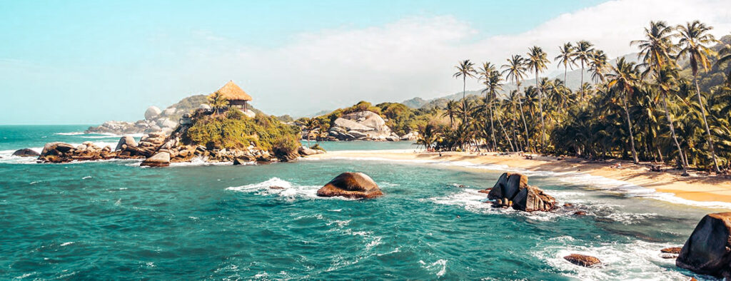 Tayrona National Park view