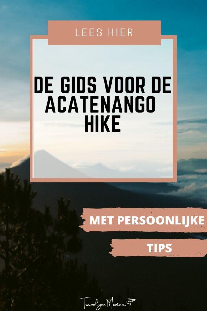 Acatenango gids pin III
