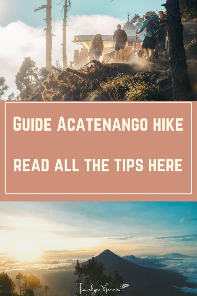Acatenango hike pin II