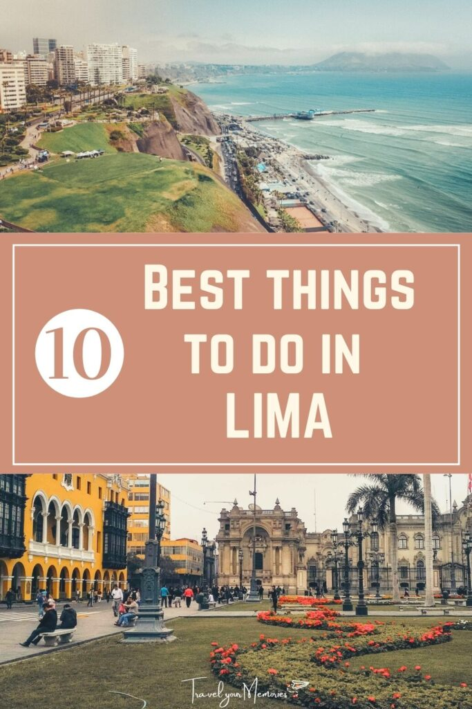 Best things to do in Lima Pin I