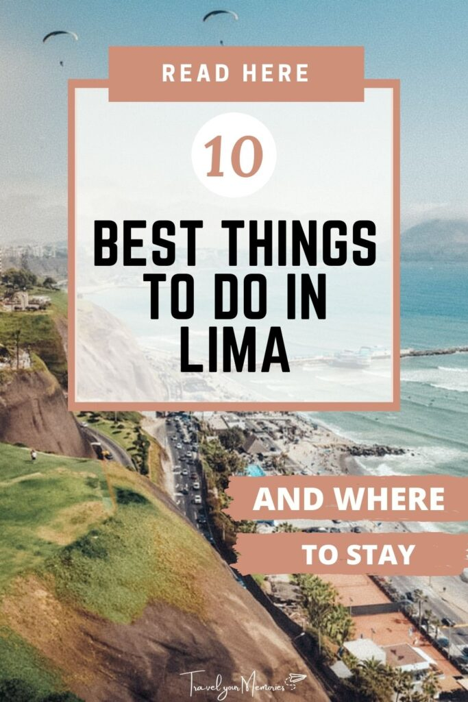 Best things to do in Lima Pin III
