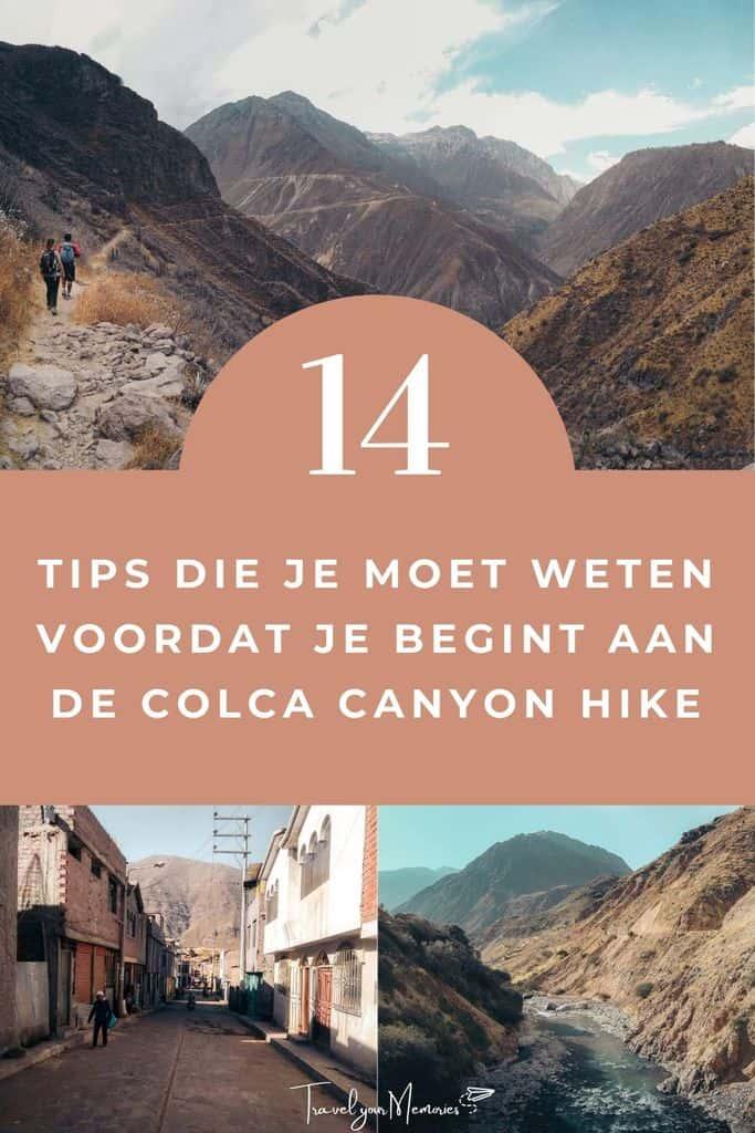 Ultieme reisgids   Colca Canyon trekking de 14 beste tips die je moet weten!