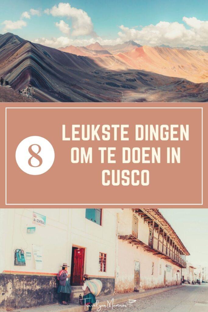 Wat te doen in Cusco pin I