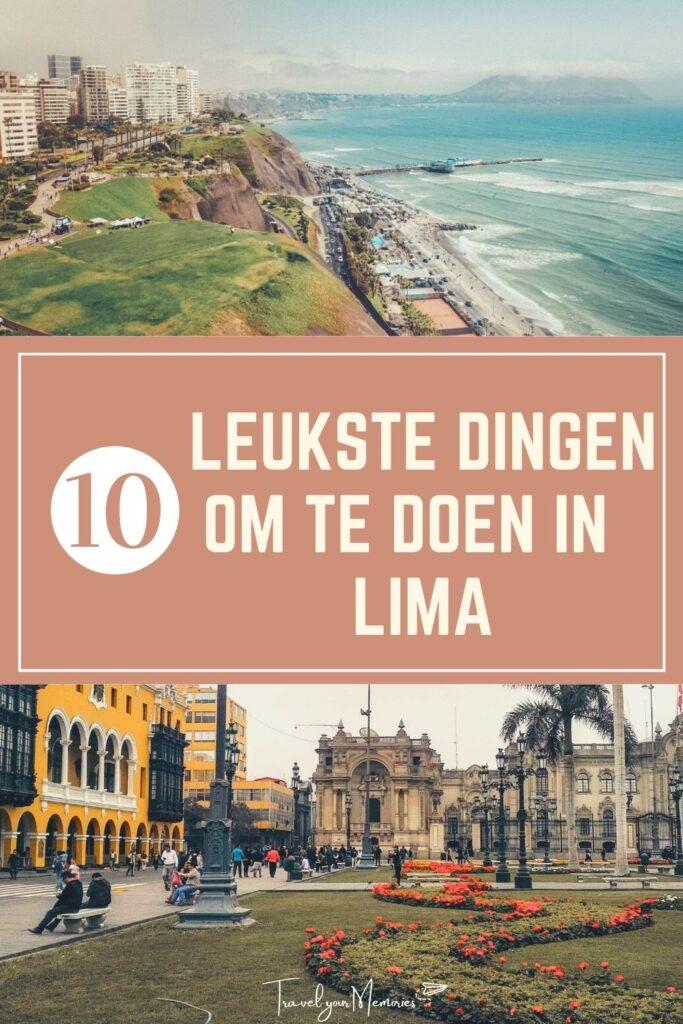 Wat te doen in Lima Pin I