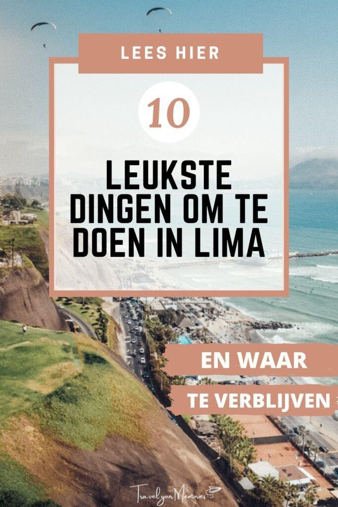 Wat te doen in Lima Pin III