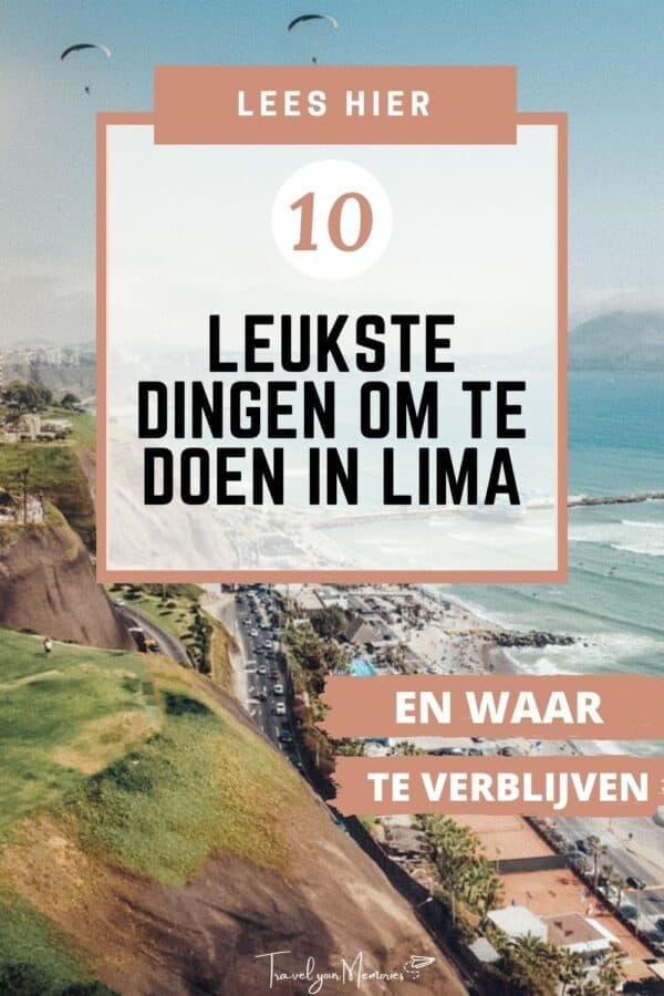 10 leukste dingen te doen in Lima Peru