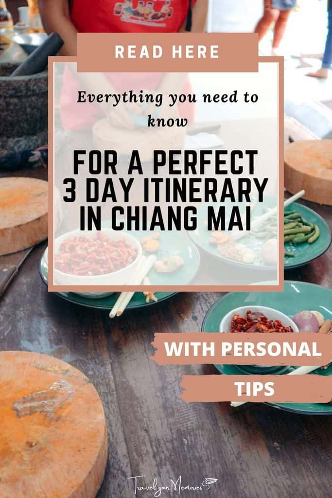 The best 3 days in Chiang Mai itinerary