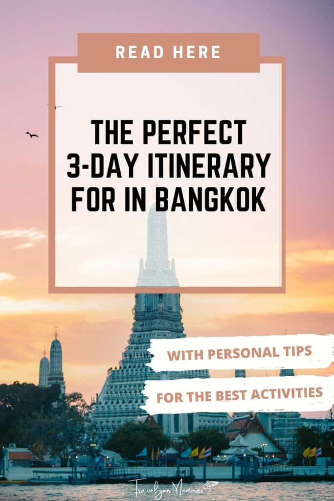 Awesome 3 days in Bangkok, read all the things to do at Bangkok here!