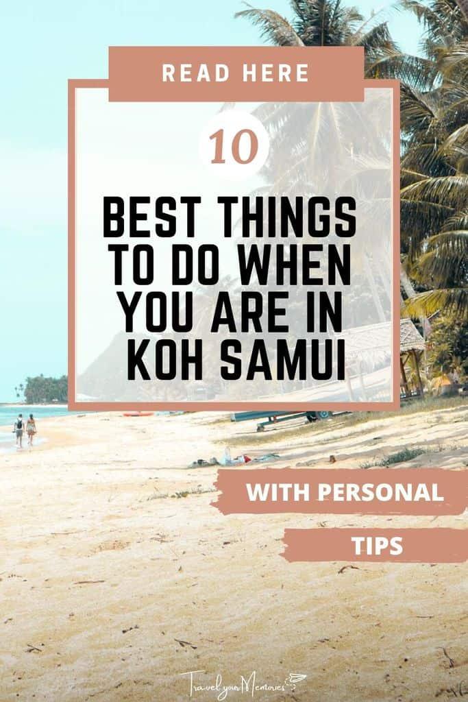 Koh Samui Travel Guide   #10 great Koh Samui activities