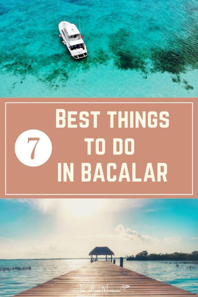 things to do in Bacarlar pin II