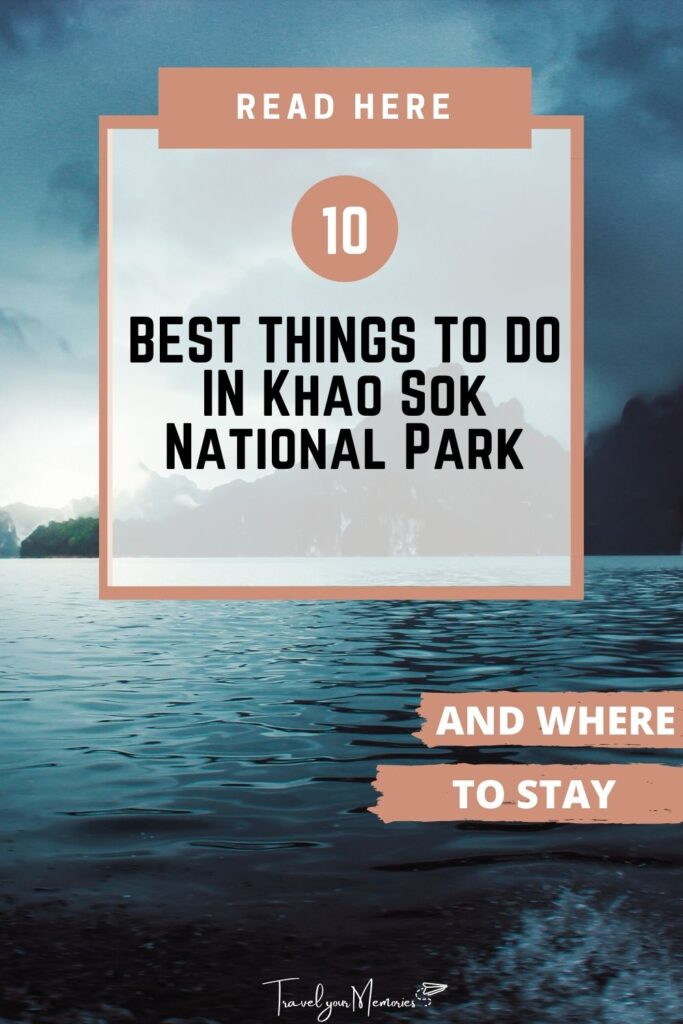 things to do in khao sok national park pin I