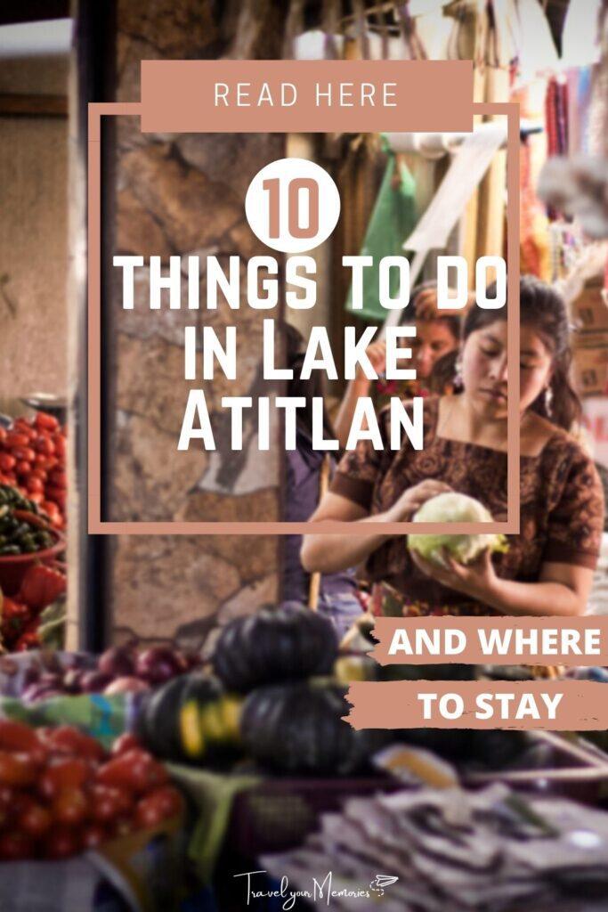 things to do in lake atitlan pin II