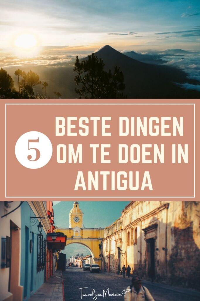 wat te doen in Antigua pin I