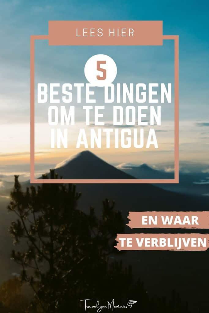 #1 Antigua reisgids: wat te doen in Antigua Guatemala