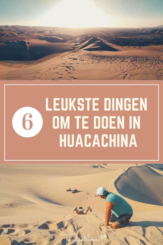 wat te doen in Huacachina Pin III