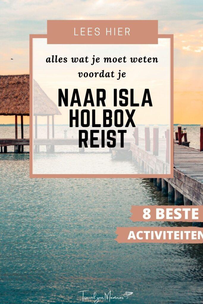 wat te doen in Isla Holbox pin I