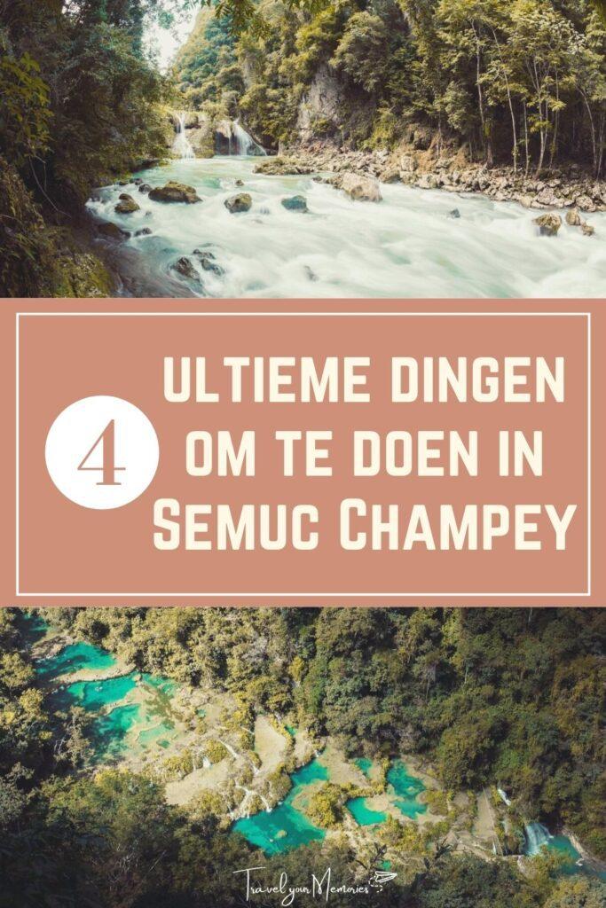 wat te doen in Semuc Campey Pin II