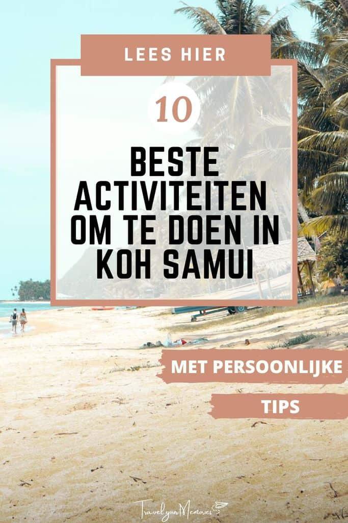 Wat te doen op Koh Samui? Perfecte reisgids voor vakantie Koh Samui