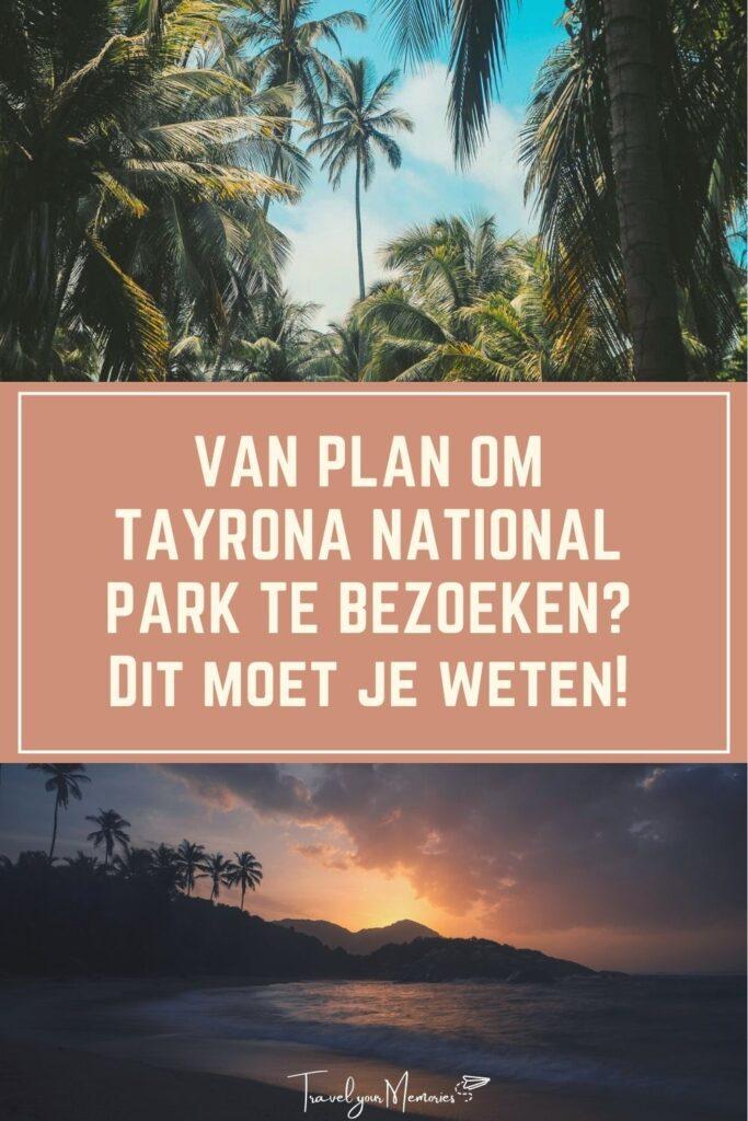 Gids Tayrona National Park Pin II