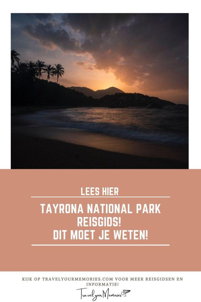 Gids Tayrona National Park Pin III