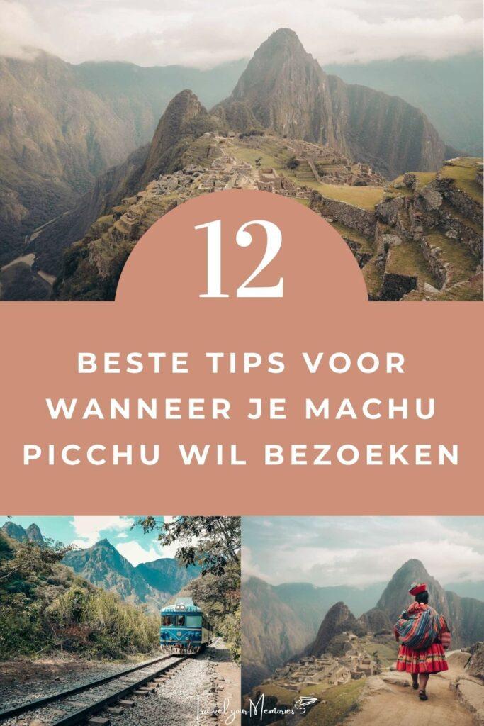 Machu Picchu gids pin III