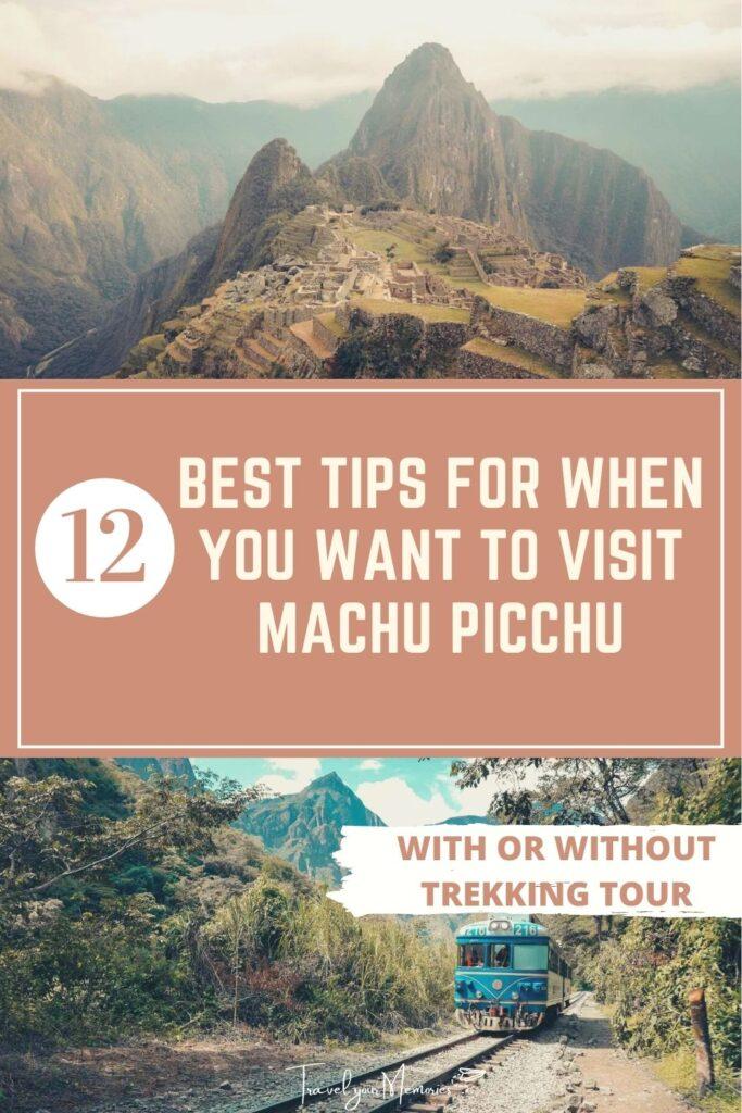 Machu Picchu guide pin I