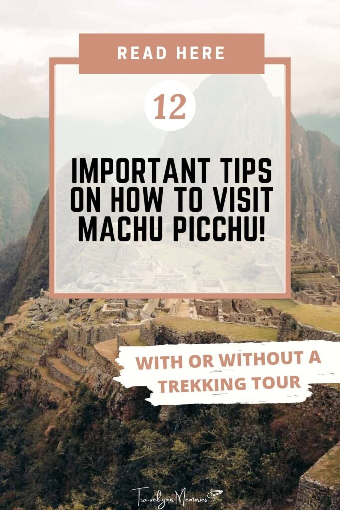 Machu Picchu guide pin II