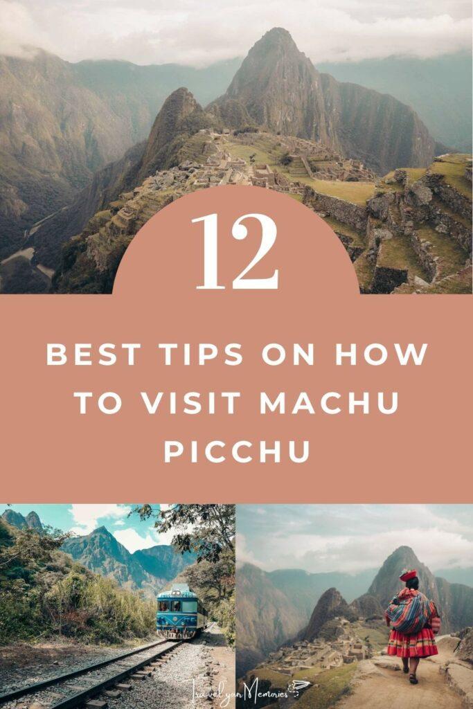 Machu Picchu guide pin III