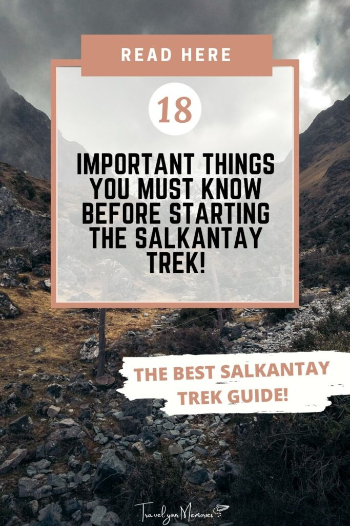 Salkantay Trek guide pin I