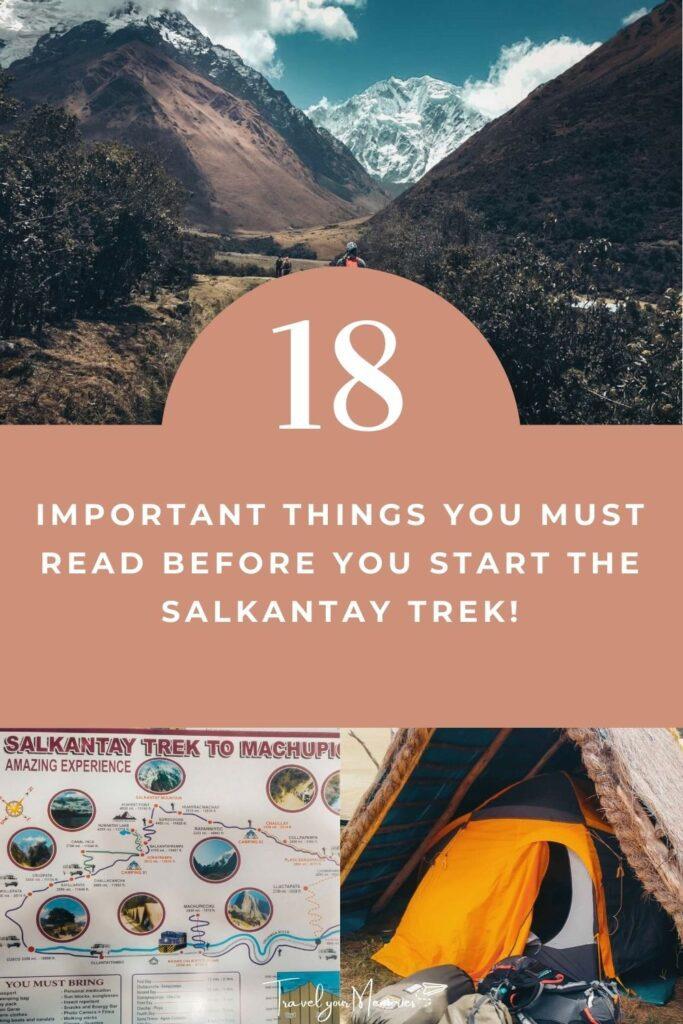 Salkantay Trek guide pin III