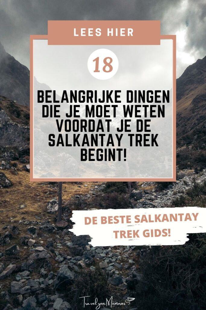 Salkantay trek guia pin II