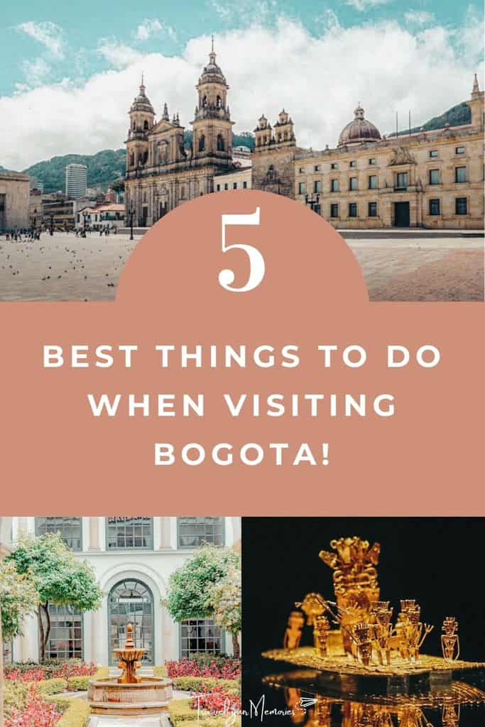 6 best things to do in Bogota Colombia